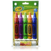 Crayola Bathtub Body Doodlers, Assorted Colors 5 ea [692237034097]