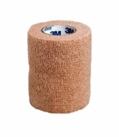 "Cohesive Bandage 3M Coban 3"" X 5 Yard Standard Compression Selfadherent Closure Tan NonSterile - 1 ea [707387093099]"