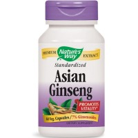Nature's Way Standardized Asian Ginseng 60 ea [033674617007]