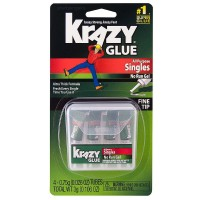 Krazy Glue Instant All Purpose Single Use Tubes, 4 ea [070158008678]
