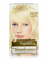 L'Oreal Superior Preference Les Blondissimes - LB01 Extra Light Ash Blonde 1 Each [071249253618]