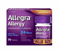 Allegra 24 Hour Allergy Tablets 70 ea [041167412060]