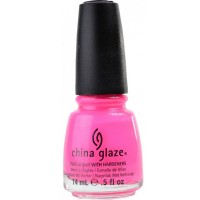 China Glaze Nail Polish, Pink Voltage, 0.5 oz [019965888622]