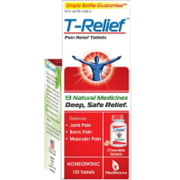 T-Relief Pain Relief 13 Natural Medicines Tablets 100 ea [787647101030]