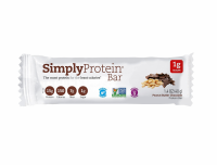 Simply Protein Bar, 1.4 oz bars, Peanut Butter Chocolate, 12 bars [852735001063]