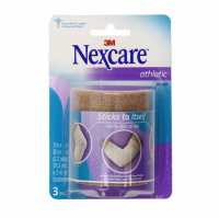Nexcare Athletic Wrap 3 Inches X 5 Yards, Tan 1 ea [051131666863]