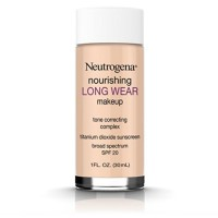 Neutrogena Nourishing Long Wear Liquid Makeup Foundation With Sunscreen, Natural Beige [60] 1 oz [086800437253]