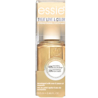 essie treat love & color metallics nail polish & strengthener, got it golding on, 0.46 oz [095008032559]