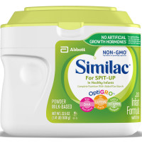 Similac for Spit Up Infant Formula with Iron, With Rice Starch, Baby Formula, Powder, 1.41 lb [070074537306]