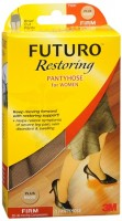 FUTURO Restoring Pantyhose Brief Cut Panty Firm Plus Nude 1 Pair [382250062862]