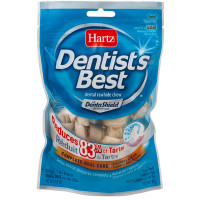 Hartz Dentist's Best Dental Rawhide Chews with DentaShield 10 ea [032700010065]