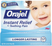 Baby Orajel Cherry Flavored Gel 0.33 oz [310310033132]