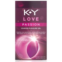 K-Y Love Passion Couples Pleasure Gel Intimate Lubricant, 1.69 oz [067981934434]