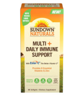 Sundown Naturals Multi+Daily Immune Support Softgels 60 ea [030768672294]