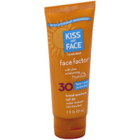 Kiss My Face Face Factor Face + Neck Sunscreen SPF 30 2 oz [028367833451]