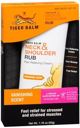 Tiger Balm Neck & Shoulder Rub 1.76 oz [039278421019]