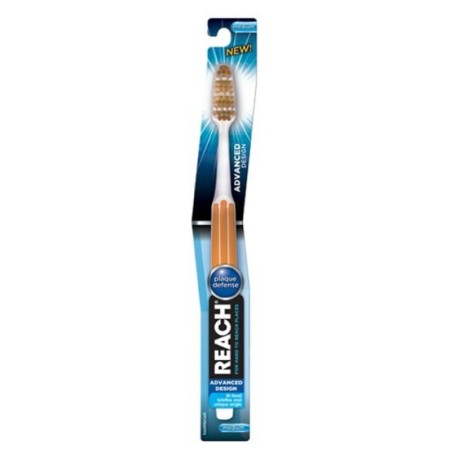 REACH Advanced Design Toothbrush Medium Full Head 1ea [840040172028]