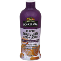 Garden Greens AcaiCleanse 48 Hour Acai Berry Detox Liquid with Lemon, Maple Syrup & Cayenne 32 oz [035046068714]