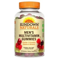 Sundown Naturals Men's Multivitamin Gummies 60 ea [030768588069]