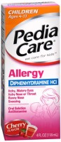 PediaCare Children's Allergy Liquid Luden's Cherry 4 oz [814832010881]