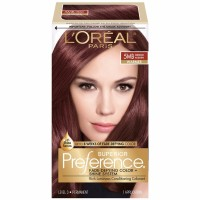 L'Oreal Superior Preference Hair Color, Medium Auburn (Warmer) [5MB] 1 ea [071249253090]