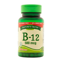 Nature's Truth Vitamin B-12 Tablets  500 mg, 120 ea [840093106001]