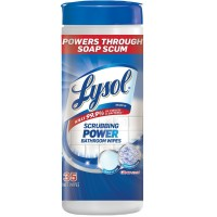Lysol Scrubbing Power Bathroom Wipes Citrus 35 ct [019200939942]