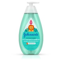 JOHNSON'S Tear Free Detangling 2 in 1 Toddler & kids Shampoo & Conditioner 20.3 oz [381371177417]