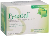 B-natal Green Apple Flavored Lozenges 28 Each [602359460025]