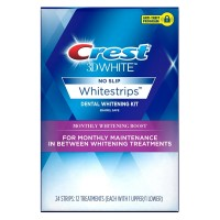 Crest 3D White Monthly Whitening Boost Dental Kit with 12 Treatments 1 ea [889714000427]