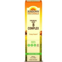 Sundown B-Complex Sublingual Liquid 2 oz [030768039905]
