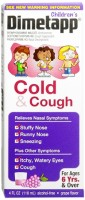 Dimetapp Children's Cold & Cough Liquid Grape 4 oz [300312234132]