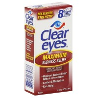Clear Eyes Maximum Strength Redness Relief Eye Drops 0.50 oz [678112665778]