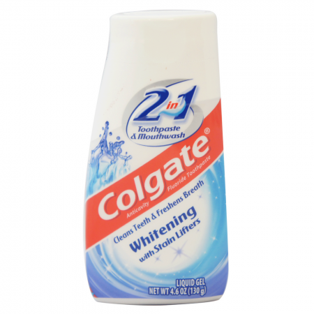 Colgate 2-in-1 Whitening With Stain Lifters Toothpaste 4.60 oz [035000764102]