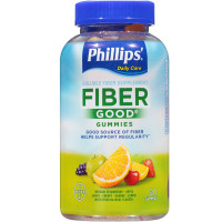 Phillips' Fiber Good Gummies, Assorted Flavors 90 ea [312843568013]