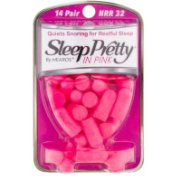 Sleep Pretty in Pink Women's Ear Plugs 14 pairs [756063052004]