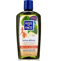 Kiss My Face Shower Gel, Active Athletic 16 oz [028367828365]