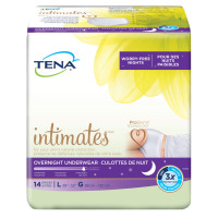 Tena Incontinence Underwear for Women, for Overnight, Large, 14 Count [768702543521]