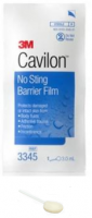 3M Cavilon No Sting Barrier Film 25x3ml [3345] Wand 25ea [707387509767]