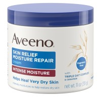 AVEENO Active Naturals Skin Relief Moisture Repair Cream, Intense Moisture 11 oz [381371150779]