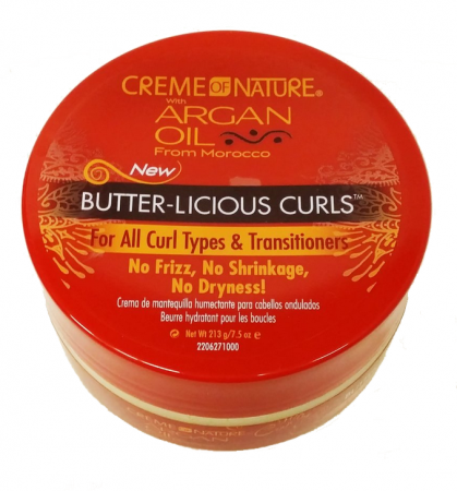 Creme Of Nature Argan Oil Butter Licious Curls Review