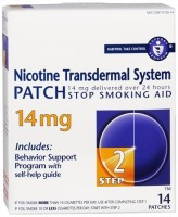 Novartis Nicotine Transdermal System Patch 14 mg [Step 2] 14 patches [300675125146]