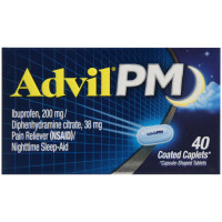 Advil PM 200 mg Coated Caplets 40 ea [305730164306]