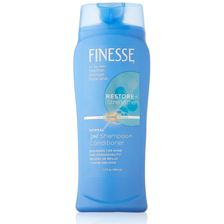 Finesse 2 in 1 Texture Enhancing Shampoo & Conditioner 13 oz [067990501436]