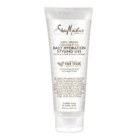 Shea Moisture 100% Virgin Coconut Oil Daily Hydration Styling Gel, 8 oz  [764302204831]