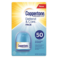 Coppertone Defend & Care Face Sunscreen Stick SPF 50,  1 ea [041100007049]