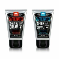 Pacific Shaving Company Company Caffeinated Shaving Set 2 Pieces - Caffeinated Shaving Cream, 1 Unit | Caffeinated Aftershave, 1 Unit  1 ea [186356000182]