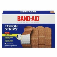 BAND-AID Brand Adhesive Bandages Tough Strip 60 ea [381371155675]
