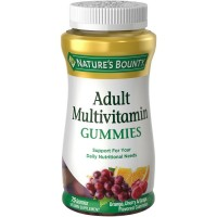 Nature's Bounty Adult Multivitamin Gummies 75 Each [074312304217]