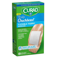 Curad Truly Ouchless Flex Fabric Bandages X-Large 8 ea [888277181802]